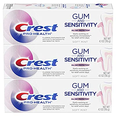 Crest Pro-health gum and sensitivity, sensitive toothpaste