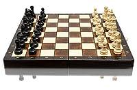 Bellissimo set di scacchi MAGNETICO in legno, gioco di scacchi con figure magnetizzate, gioco classico artigianale ... (medio 28 cm) #2