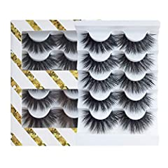 High volume 3D faux mink lashes, designed with full and fabulous from root to tip, are suitable for ladies who are lusting after a voluminous look. The thickness draws attention to your eyes and the textured pattern adds beautiful drama to your eyes ...