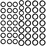 OSGP 50 Pcs Power Pressure Washer O-Rings Replacement for 1/4 Inch, 3/8 Inch, M22 Quick Connect Coupler