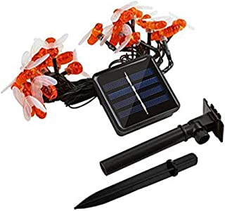 VONKY 1/2/3/5 meters Solar USB Battery Power Honey Bee LEDs Light Strings Outdoor Waterproof Wedding Party Patio Decoratio...