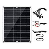 15W DC 18V / 5V Dual USB Solar Power Bank Panel Pannello solare ad alta efficienza di conversione per telecamere di sicurezza per barca