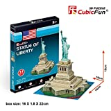 CubicFun - Puzzle en 3D Mini Estatua de la Libertad