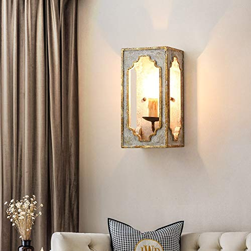 Lovedima Wall Light Fixtures,Industrial Indoor Candle Wall Sconces for Bedroom Living Room Hallway