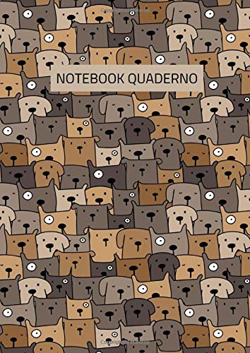 Notebook Quaderno: Quaderno a quadretti 5mm A4, Idea regalo per amanti dei cani, Regalo veterinario, laureati veterinari, studenti veterinari