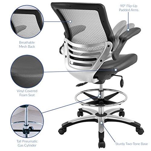 LexMod Edge Drafting Chair