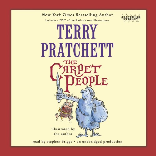 The Carpet People audiobook cover art