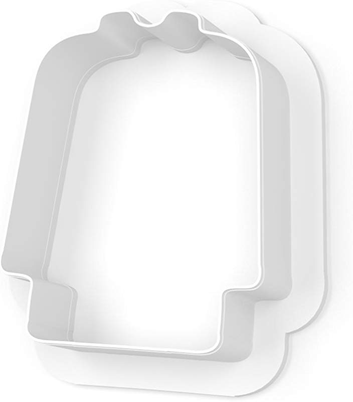 Lab Coat Cookie Cutter LARGE 4 Inches