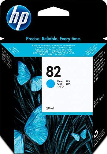 HP Original CH566A / 82, für DesignJet 510 Series Premium Drucker-Patrone, Cyan, 28 ml