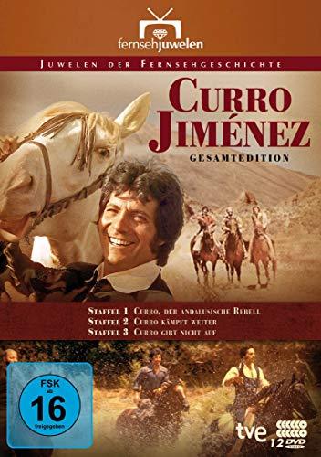 Curro Jiménez: Der andalusische Rebell (Komplettbox Staffeln 1-3) (Fernsehjuwelen) [12 DVDs]