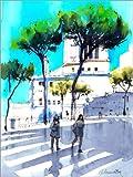 Poster 50 x 70 cm: Piazza Venezia, Rom von Anastasia
