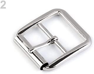10pc 2 Nickel Metal Buckle 25mm, Belt Buckles, Findings, Haberdashery