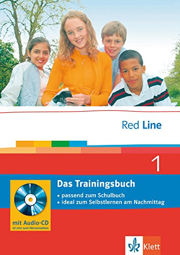 Red Line. Unterrichtswerk für Realschulen: Red Line 1. Das Trainingsbuch 5. Klasse. Passend zum Schulbuch; ideal zum Selbstlernen am Nachmittag: BD 1