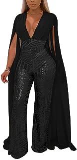 Best long sleeve sequin jumpsuits Reviews