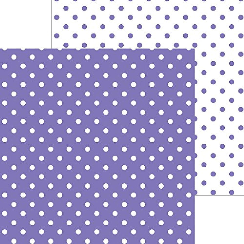 DOODLEBUG 5070 Petite Swiss Dot Cardstock (25 Sheets Per Pack), 12