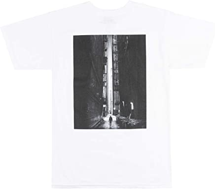 baecfa3a V/SUAL Lane T-Shirt Mens Visual Van Styles Model Photography TEE White