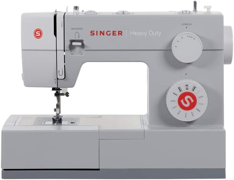 SINGER Some Memphis Mall reservation Heavy Duty 4411 Grey Medium Machine Sewing