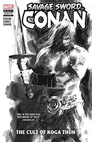 Savage Sword Of Conan: The Cult Of Koga Thun (Black And White) (Savage Sword Of Conan (2019)) (English Edition)