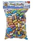 Captain Creative CC10031 Magic Nuudles, Medium Bag of Bright Nuudles - STEM Arts and Crafts Toy for Kids - Build, Decorate, Create - Biodegradable and Non-Toxic (300 Count)