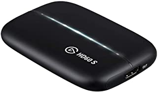Elgato 1GC109901004 Game Capture HD60 S- stream, record and share your gameplay in 1080p60, superior low latency technolog...