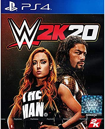 WWE 2K20 Standard Edition (PS4) PlayStation 4 Standard