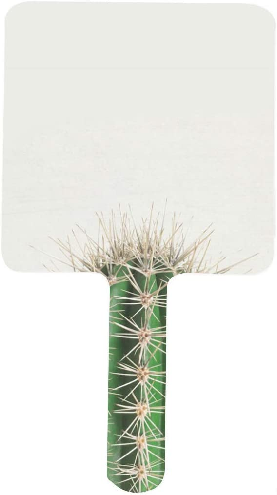 Cute Cactus Gifts Hand Mirror Square Ha Vanity Makeup Department store HD