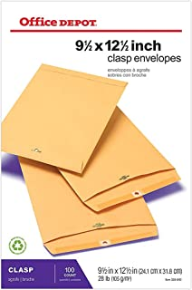 Office Depot Brand Clasp Envelopes, 9 1/2