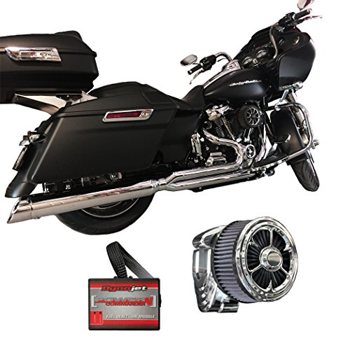 2017 Harley Touring Package D&D M8 Billet Cat Dynojet PCV 15-042 & CSR Intake