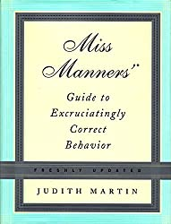 image of manners book to give to people who make rude comments about gray hair