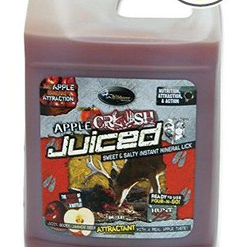 Price comparison product image Flextone Game Calls 00328 Apple Crush Juiced Deer Attractant,  Liquid Gel,  1-Gal. - Quantity 3