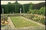 Metal Sign English Country Uk Gb de los jardines de 131094 quilates con diseño de rosas y pájaros cultivadas cortasetos A4 12 x 8 aluminio