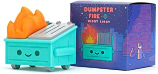 100% Soft Dumpster Fire LED ing Night Light