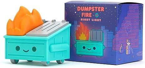 100% Soft Lil Dumpster Fire Night Light figurka