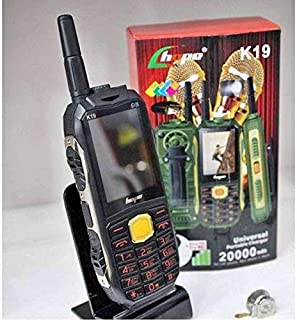 HOPE K19 4 SIM هاتف محمول 3 في 1 - 20000 ميللي أمبير مع كشاف LED