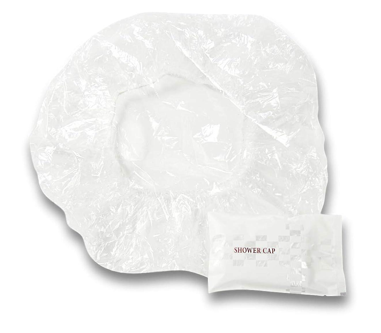がっかりする正確ななめるラティス シャワーキャップ 業務用 個別包装100入り 使い捨てキャップ