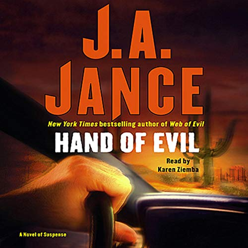 Hand of Evil audiobook cover art