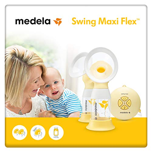 MEDELA Tire-lait électrique double Swing Maxi Flex 2-Phase,...