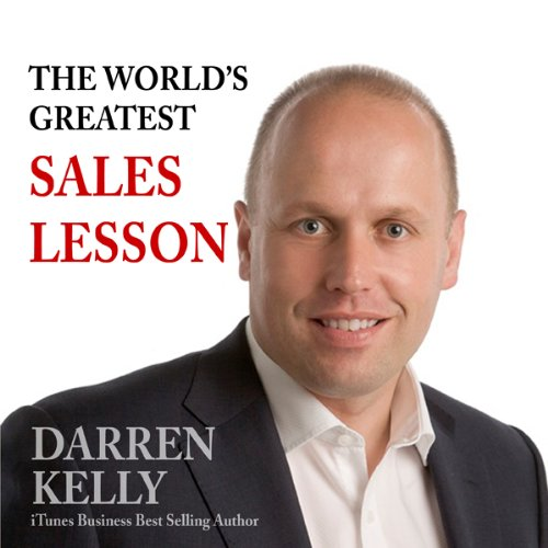 The World's Greatest Sales Lesson audiobook cover art