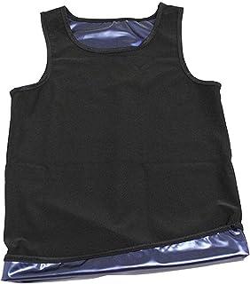 Mannen Sauna Vest,Sauna Suit Mannen Gewichtsverlies Jas Pant Gym Workout Sweat Suits Afslanken Shirt L Xl