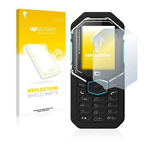 upscreen Entspiegelungs-Schutzfolie kompatibel mit Crosscall Shark X3 – Anti-Reflex Bildschirmschutz-Folie Matt