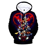 TISEA Unisex Adult and Children Hot Game Kindom Roles 3D Printed Pullover Hoodie Costume (Adult-XL, Style G)