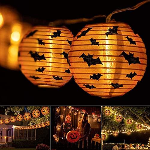Halloween String Lights Halloween Decorations LED Pumpkin Lights, Indoor &...