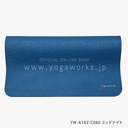ヨガワークス(Yogaworks) ヨガマット6mm ミッドナイト YW-A102-C080
