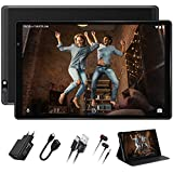 Facetel Q3 Pro 10 inch Tablet,Octa-Core Processor 1.6GHz,Android 9.0 Pie,3 GB RAM 32 GB Storage 128GB Extended Memory,10''IPS HD Display,Google Certification,5G Wi-Fi,Bluetooth,GPS,Metal Black