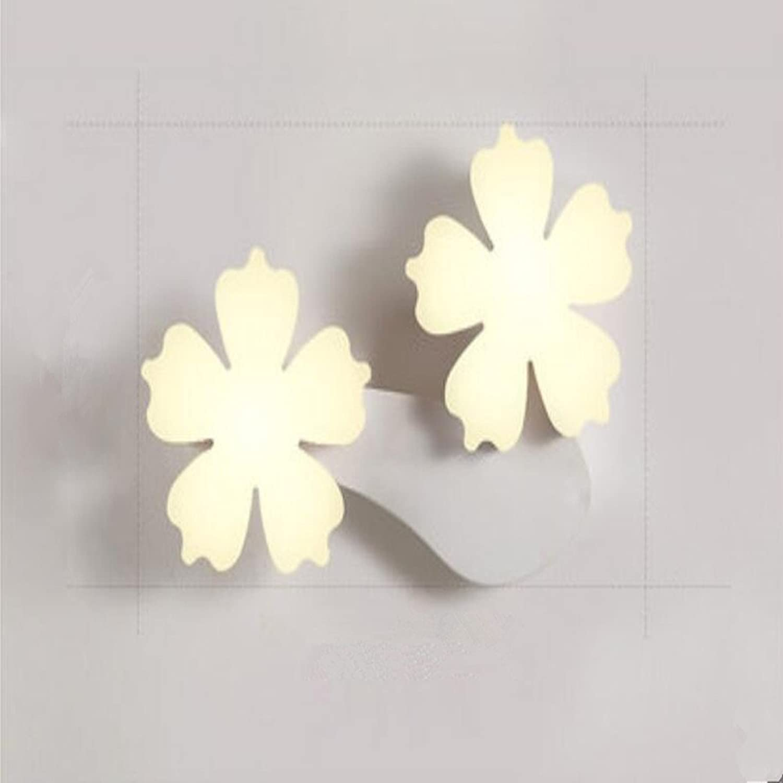 MIAO Wandleuchte Simple Plum Wandleuchte Persnlichkeit Flur Licht Gang Wandleuchte Nachttischlampe Nordic Beleuchtung,Gelb