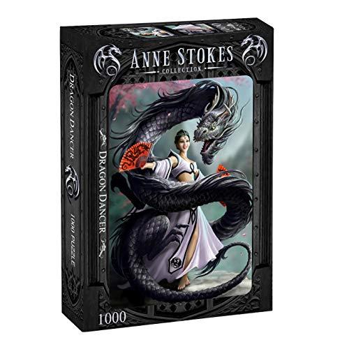 Wild Star Hearts Anne Stokes Dragon Dancer 1000 Stück Puzzle