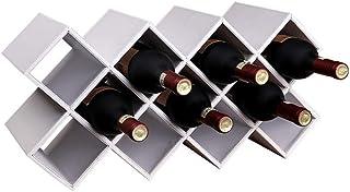 ZLJ 11 Bouteilles de vin casier de Salon présentoir de Cuisine Support de Rangement