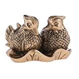 lachineuse - Figurita de 2 Patos mandarines (Feng Shui, símbolo de Amor)