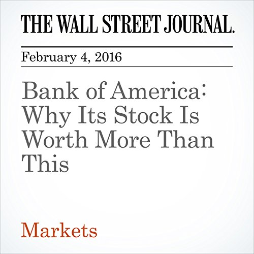 Bank of America: Why Its Stock Is Worth More Than This cover art