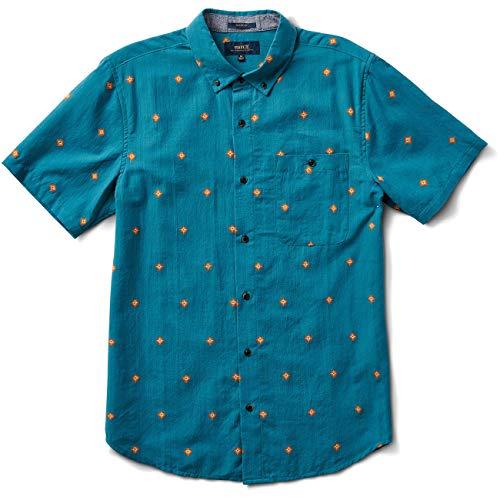 Roark Revival Herren Hemd Kemang, Größe:L, Farben:Marine Blue